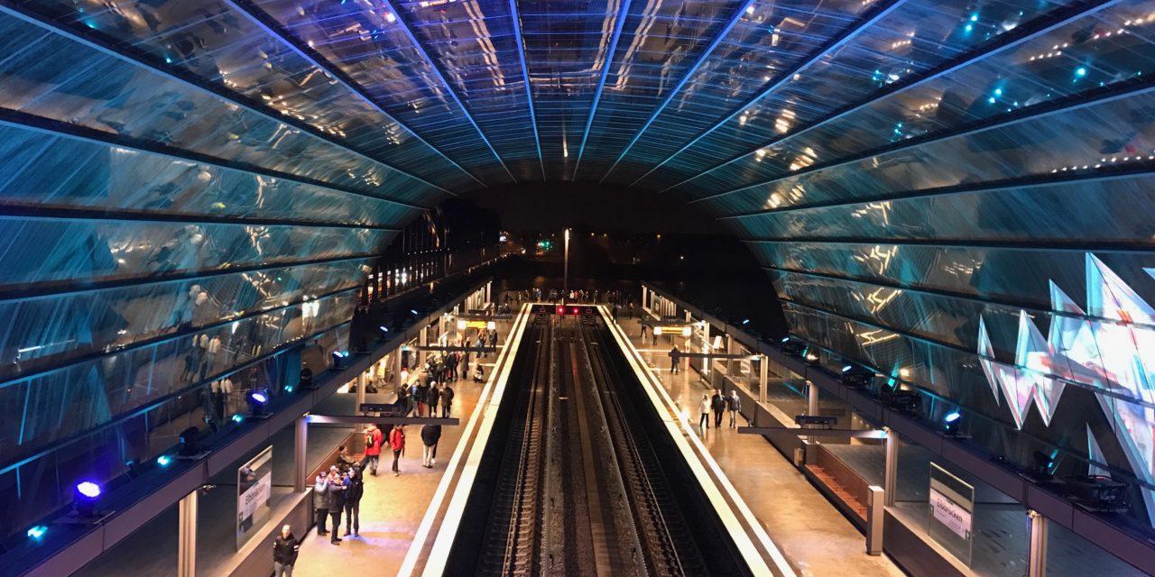 Baakenhafen: Neue U-Bahn-Station Elbbrücken eröffnet
